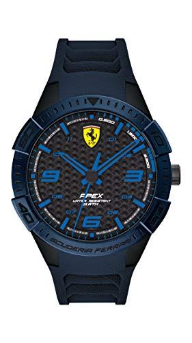 フェラーリ 腕時計 メンズ 【送料無料】Ferrari Men's APEX Quartz Watch with Silicone Strap, Blue, 20 (Model: 0830665)フェラーリ 腕時計 メンズ
