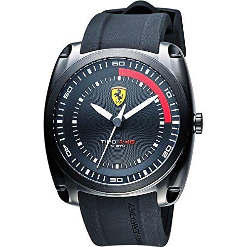 フェラーリ 腕時計 メンズ 【送料無料】Watch Ferrari Scuderia Men's Tipo J-46 Watch Quartz Mineral Crystal 830319 830319フェラーリ 腕時計 メンズ