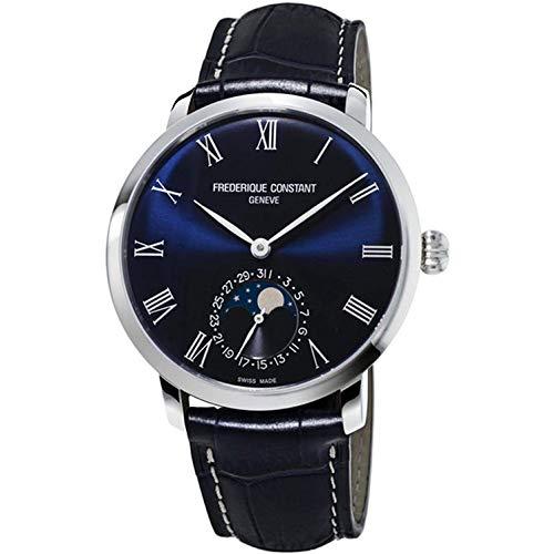 """フレデリックコンスタント フレデリック・コンスタント 腕時計 メンズ 【送料無料】Frederique Constant Slimline Moonphase Automatic Movement Blue Dial Men""""s Watch FC-705NR4S6フレデリックコンスタント フレデリック・コンスタント 腕時計 メンズ"""