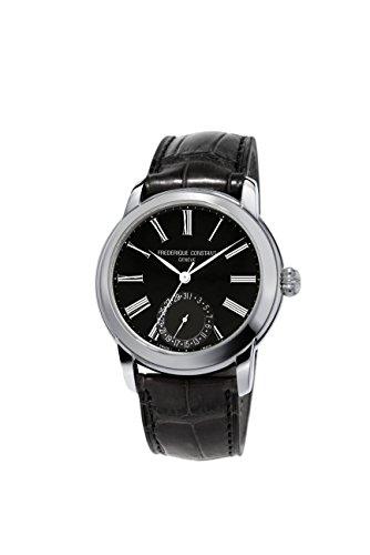 フレデリックコンスタント フレデリック・コンスタント 腕時計 メンズ 【送料無料】Frederique Constant Slimline Classics Black Dial Leather Strap Men's Watch FC-710MB4H6フレデリックコンスタント フレデリック・コンスタント 腕時計 メンズ