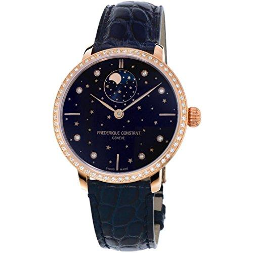 フレデリックコンスタント フレデリック・コンスタント 腕時計 レディース 【送料無料】Ladies' Frederique Constant Slimline Moonphase Stars Manufacture Watch FC-701NSD3SD4フレデリックコンスタント フレデリック・コンスタント 腕時計 レディース