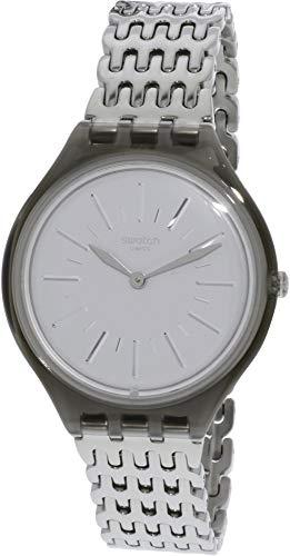 スウォッチ 腕時計 レディース 夏の腕時計特集 【送料無料】Swatch Skinparure SVOM104G Silver Stainless-Steel Swiss Quartz Fashion Watchスウォッチ 腕時計 レディース 夏の腕時計特集