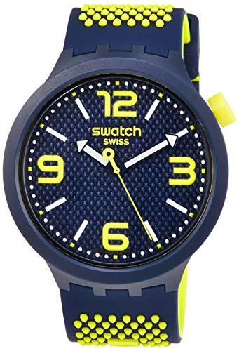 スウォッチ 腕時計 メンズ 【送料無料】Swatch BBNEON Quartz Blue Dial Men's Watch SO27N102スウォッチ 腕時計 メンズ