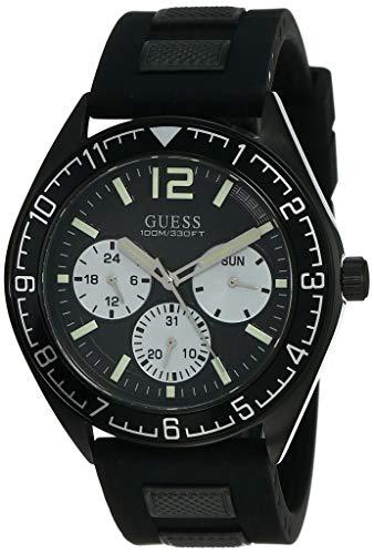 ゲス GUESS 腕時計 メンズ 【送料無料】Guess Pacific Black Dial Men's Multifunction Watch W1167G2ゲス GUESS 腕時計 メンズ