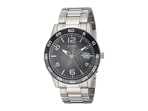 ゲス GUESS 腕時計 メンズ 【送料無料】GUESS Men's Analog Watch with Stainless Steel Strap, Silver, 22 (Model: U1172G1)ゲス GUESS 腕時計 メンズ