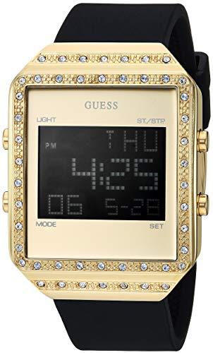 ゲス GUESS 腕時計 レディース 【送料無料】GUESS Women's Stainless Steel Quartz Watch with Silicone Strap, Gold, 46 (Model: U1224L2)ゲス GUESS 腕時計 レディース