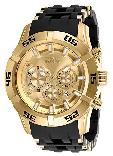 インヴィクタ インビクタ 腕時計 メンズ 【送料無料】Invicta Men's Sea Spider Quartz Watch with Stainless Steel and Polyurethane Strap, Black, 26 (Model: 26534)インヴィクタ インビクタ 腕時計 メンズ