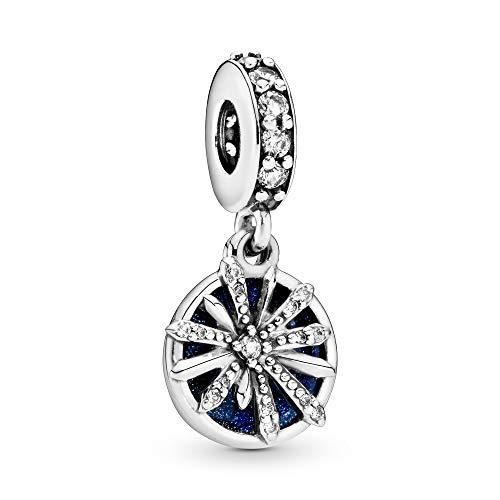 パンドラ ブレスレット アクセサリー ブランド かわいい 【送料無料】Pandora Jewelry Dazzling Wishes Dangle Cubic Zirconia Charm in Sterling Silverパンドラ ブレスレット アクセサリー ブランド かわいい