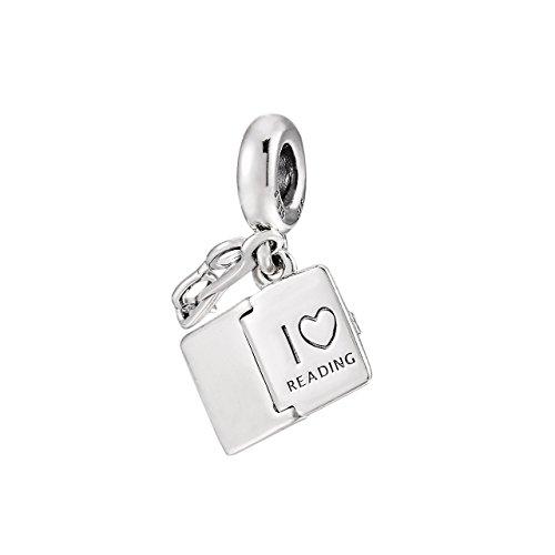 パンドラ ブレスレット アクセサリー ブランド かわいい 【送料無料】Pandora Jewelry Love Reading Sterling Silver Charmパンドラ ブレスレット アクセサリー ブランド かわいい
