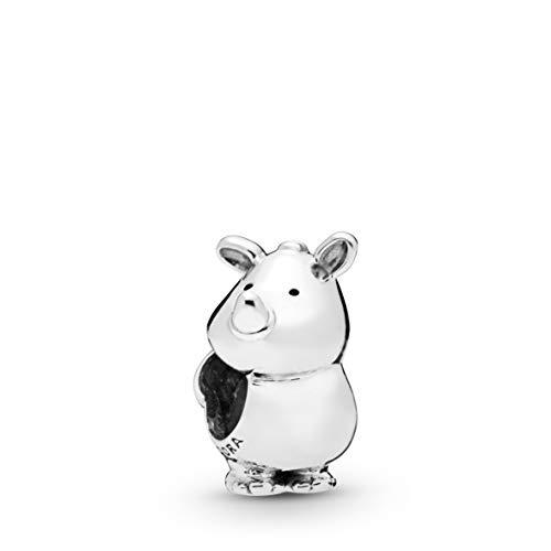 パンドラ ブレスレット アクセサリー ブランド かわいい 【送料無料】PANDORA Rino the Rhinoceros 925 Sterling Silver Charm - 798023パンドラ ブレスレット アクセサリー ブランド かわいい