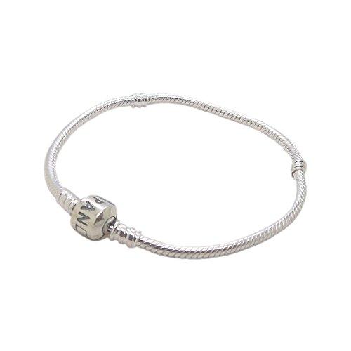 パンドラ ブレスレット アクセサリー ブランド かわいい 【送料無料】Authentic Pandora Barrel Clasp Bracelet 590702HV 590702HV-19 7.5 inchパンドラ ブレスレット アクセサリー ブランド かわいい