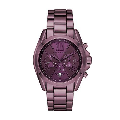 マイケルコース 腕時計 レディース マイケル・コース アメリカ直輸入 【送料無料】Michael Kors Women's Bradshaw Quartz Watch with Stainless Steel Strap, Purple, 22 (Model: MK6721)マイケルコース 腕時計 レディース マイケル・コース アメリカ直輸入