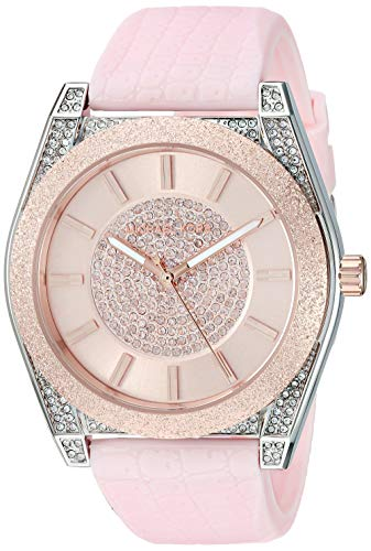 マイケルコース 腕時計 レディース マイケル・コース アメリカ直輸入 【送料無料】Michael Kors Women's Channing Stainless Steel Quartz Watch with Rubber Strap, Pink, 20 (Model: MK6704)マイケルコース 腕時計 レディース マイケル・コース アメリカ直輸入