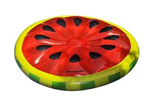 フロート プール 水遊び 浮き輪 90544 Swimline Watermelon Slice Island Inflatable Raftフロート プール 水遊び 浮き輪 90544