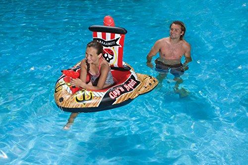 フロート プール 水遊び 浮き輪 87212 Poolmaster Pirate Ship with Action Squirter Swimming Pool Floatフロート プール 水遊び 浮き輪 87212