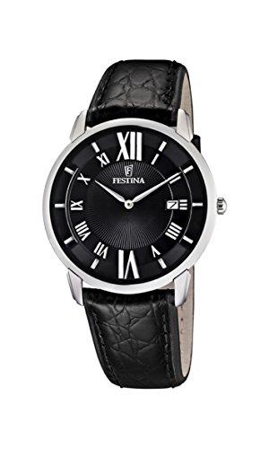 フェスティナ フェスティーナ スイス 腕時計 メンズ F6813/2 【送料無料】Festina Men's Quartz Watch Klassik F6813/2 with Leather Strapフェスティナ フェスティーナ スイス 腕時計 メンズ F6813/2
