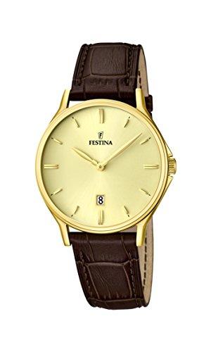 フェスティナ フェスティーナ スイス 腕時計 メンズ F16747/2 Festina Classic F16747/2 Mens Wristwatch Classic & Simpleフェスティナ フェスティーナ スイス 腕時計 メンズ F16747/2