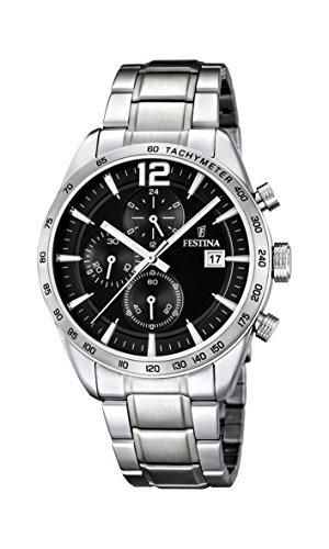 腕時計 フェスティナ フェスティーナ スイス メンズ F16759/4 【送料無料】Festina Chrono Sport F16759/4 Mens Chronograph Solid Case腕時計 フェスティナ フェスティーナ スイス メンズ F16759/4