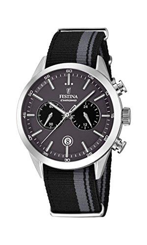 フェスティナ フェスティーナ スイス 腕時計 メンズ F16827/1 FESTINA Watch Sport Male Chronograph Fabric - f16827-1フェスティナ フェスティーナ スイス 腕時計 メンズ F16827/1