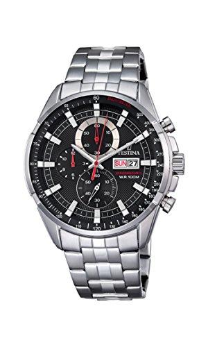 フェスティナ フェスティーナ スイス 腕時計 メンズ F6844/4 Watch Festina Men's F6844/4 Chronograph - Stainless Steelフェスティナ フェスティーナ スイス 腕時計 メンズ F6844/4