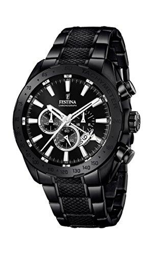 フェスティナ フェスティーナ スイス 腕時計 メンズ F16889/1 【送料無料】Festina Chrono Sport F16889/1 Mens Chronograph Second Time, Black, Size No Sizeフェスティナ フェスティーナ スイス 腕時計 メンズ F16889/1