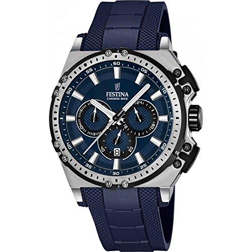 フェスティナ フェスティーナ スイス 腕時計 メンズ F16970/2 Festina Chrono Bike F16970/2 Mens Chronograph Solid Caseフェスティナ フェスティーナ スイス 腕時計 メンズ F16970/2