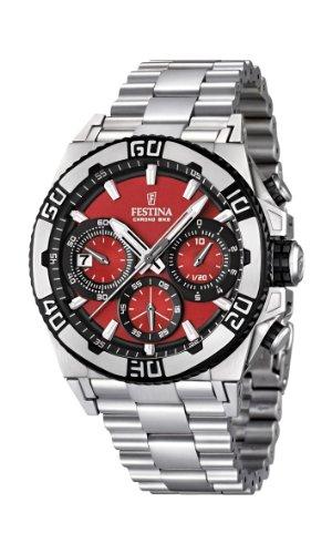 フェスティナ フェスティーナ スイス 腕時計 メンズ F16658/8 【送料無料】Men's Watch Festina Chrono Bike F16658/8 Tour de France 2 Years Warrantyフェスティナ フェスティーナ スイス 腕時計 メンズ F16658/8