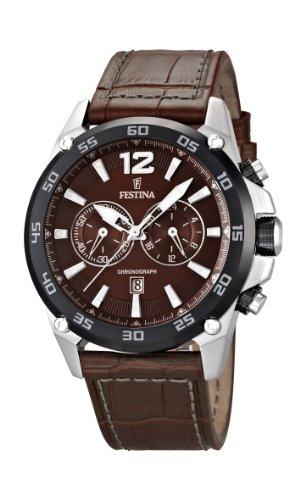 フェスティナ フェスティーナ スイス 腕時計 メンズ F16673/3 【送料無料】Festina Chrono Sport Mens Chronograph Solid Caseフェスティナ フェスティーナ スイス 腕時計 メンズ F16673/3