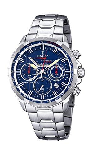 フェスティナ フェスティーナ スイス 腕時計 メンズ F6836/3 Men's Watch - FESTINA - Stainless Steel - Chronograph - F6836/3フェスティナ フェスティーナ スイス 腕時計 メンズ F6836/3