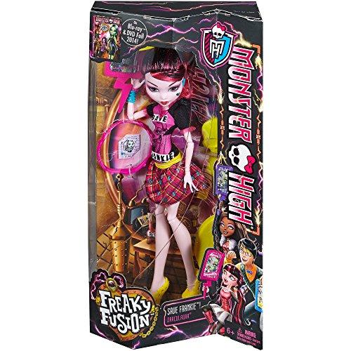 モンスターハイ 人形 ドール cbx38 Monster High Freaky Fusion Save Frankie! Draculauraモンスターハイ 人形 ドール cbx38