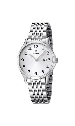 フェスティナ フェスティーナ スイス 腕時計 レディース F16748/1 【送料無料】Festina Women's Quartz Watch with Stainless Steel Strap, Silver, 22 (Model: F16748/1)フェスティナ フェスティーナ スイス 腕時計 レディース F16748/1