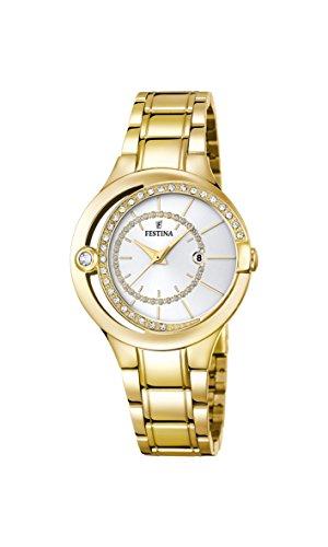 腕時計 フェスティナ フェスティーナ スイス レディース F16948/1 【送料無料】Festina Klassik F16948/1 Wristwatch for women With Zircons腕時計 フェスティナ フェスティーナ スイス レディース F16948/1