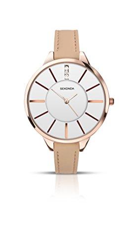 腕時計 セコンダ イギリス レディース 2013.27 【送料無料】Sekonda Editions White Stone Set Dial Ladies Watch 2013腕時計 セコンダ イギリス レディース 2013.27