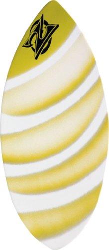 サーフィン スキムボード マリンスポーツ Zap Wedge Medium Skimboard - 45x20 Assorted Yellowサーフィン スキムボード マリンスポーツ