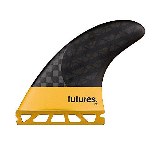 サーフィン フィン マリンスポーツ Future Fins EA Vector II Blackstix 3.0 V2EA Thruster Surfboard Fin Set Carbon Fiberサーフィン フィン マリンスポーツ
