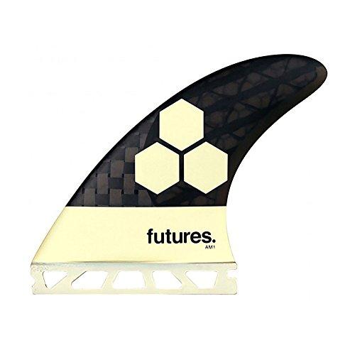 サーフィン フィン マリンスポーツ Future Fins AM1 Vector II Blackstix 3.0 V2AM1 Thruster Surfboard Fin Set Carbon Fiberサーフィン フィン マリンスポーツ