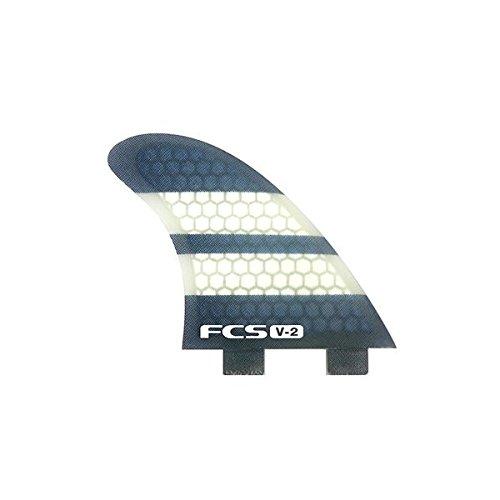 サーフィン フィン マリンスポーツ 【送料無料】FCS K2.1 V-2 Performance Core Surfboard Fins - Tri-Quad Setサーフィン フィン マリンスポーツ