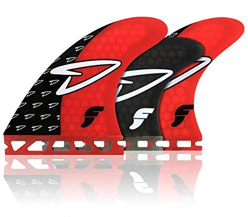 サーフィン フィン マリンスポーツ Futures Roberts HC 5 Fin Set - Medium Red / Smokeサーフィン フィン マリンスポーツ