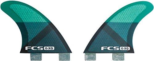 サーフィン フィン マリンスポーツ FCS G-XQ Rear Set - Blue Sliceサーフィン フィン マリンスポーツ