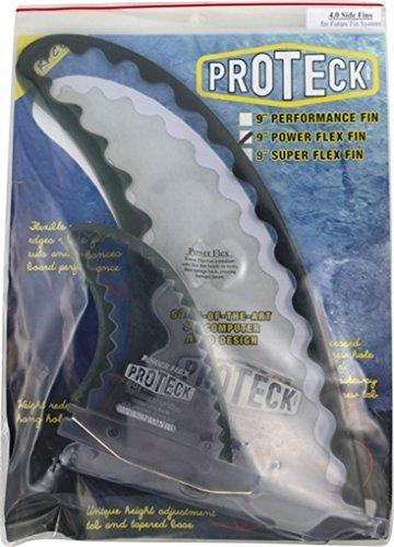 サーフィン フィン マリンスポーツ 【送料無料】Pro Teck Power Flex Smoke 3 Fin Combo Set Includes 9