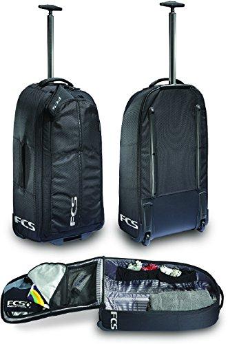 サーフィン フィン マリンスポーツ 【送料無料】FCS Departure Backpack/Luggage - Black - Wheels, Extendable Handle and Backpack Straps.サーフィン フィン マリンスポーツ