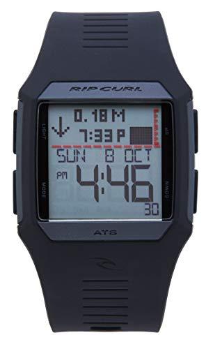 リップカール 腕時計 メンズ サーファー サーフィン A1119-MID Rip Curl Men's A1119-MID Rifles Tide Digital Display Quartz Black Watchリップカール 腕時計 メンズ サーファー サーフィン A1119-MID