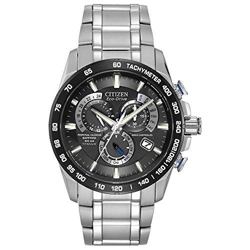 シチズン 逆輸入 海外モデル 海外限定 アメリカ直輸入 AT4010-50E 【送料無料】Citizen Eco-Drive Perpetual Chrono Atomic Timekeeping Titanium Watch for Men, AT4010-50Eシチズン 逆輸入 海外モデル 海外限定 アメリカ直輸入 AT4010-50E