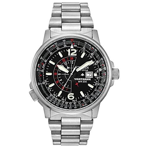 シチズン 逆輸入 海外モデル 海外限定 アメリカ直輸入 BJ7000-52E 【送料無料】Citizen Men's Eco-Drive Promaster Nighthawk Dual Time Watch with Date, BJ7000-52Eシチズン 逆輸入 海外モデル 海外限定 アメリカ直輸入 BJ7000-52E