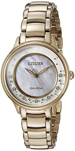シチズン 逆輸入 海外モデル 海外限定 アメリカ直輸入 EM0382-86D 【送料無料】Citizen Eco-Drive Women's EM0382-86D Circle of Time Rose Gold Watchシチズン 逆輸入 海外モデル 海外限定 アメリカ直輸入 EM0382-86D
