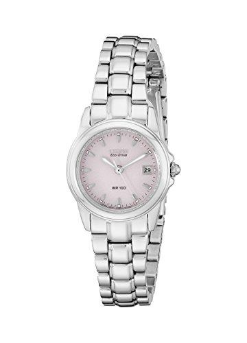 シチズン 逆輸入 海外モデル 海外限定 アメリカ直輸入 EW1620-57X Citizen Women's Eco-Drive Watch with Pink Dial and Date, EW1620-57Xシチズン 逆輸入 海外モデル 海外限定 アメリカ直輸入 EW1620-57X