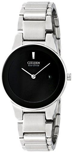 シチズン 逆輸入 海外モデル 海外限定 アメリカ直輸入 GA1050-51E 【送料無料】Citizen Eco-Drive Women's GA1050-51E Axiom Analog Display Silver Watchシチズン 逆輸入 海外モデル 海外限定 アメリカ直輸入 GA1050-51E