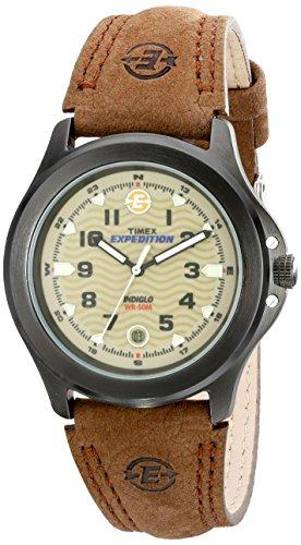 タイメックス 腕時計 メンズ T47012 【送料無料】Timex Men's T47012 Expedition Metal Field Brown Leather Strap Watchタイメックス 腕時計 メンズ T47012