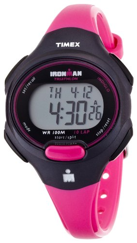 タイメックス 腕時計 メンズ T5K525 【送料無料】TIMEX Ironman 10 lap mid size black / pink Women's T5K525タイメックス 腕時計 メンズ T5K525