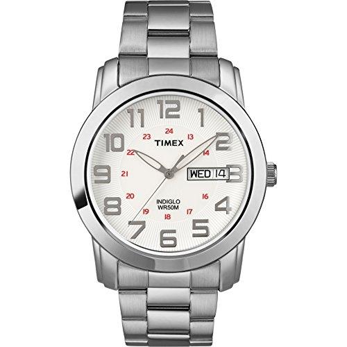 タイメックス 腕時計 メンズ T2N437 Timex Men's T2N437 Highland Street Silver-Tone Stainless Steel Bracelet Watchタイメックス 腕時計 メンズ T2N437